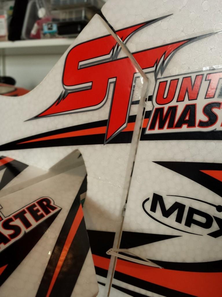 Multiplex Stuntmaster - Rudder